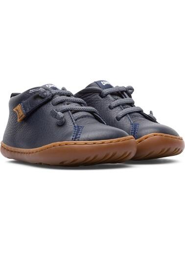 Camper 80153066 Peu Cami Fw Erkek Çocuk Deri Bağcıklı Ayakkabı Lacivert
